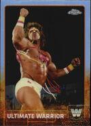 2015 Chrome WWE Wrestling Cards (Topps) Ultimate Warrior 90
