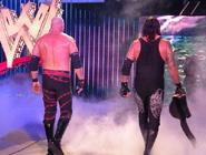 Undertaker and Kane walking