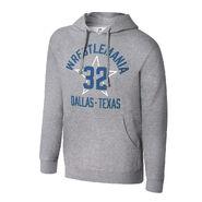 WrestleMania 32 Grey Pullover Hoodie Sweatshirt