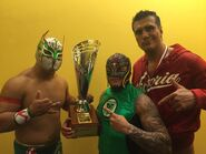 Lucha Libre World Cup 2015 Dream Team After Get Gold Medal