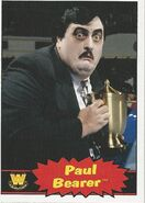 2012 WWE Heritage Trading Cards Paul Bearer 97