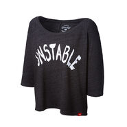 Dean Ambrose Unstable Women's Raglan-Sleeve Scoop Neck T-Shirt