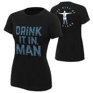 Chris Jericho Drink It In Man Women's Authentic T-Shirt