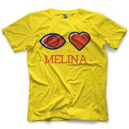 Melina Eye Heart Melina Shirt