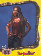 2002 WWE Absolute Divas (Fleer) Jacqueline 23