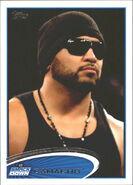 2012 WWE (Topps) Camacho 32