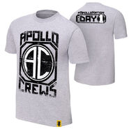 Apollo Crews Since Day 1 Authentic T-Shirt