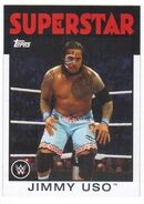 2016 WWE Heritage Wrestling Cards (Topps) Jimmy Uso 18