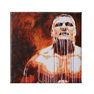 Brock Lesnar 12 x 12 Gallery Wrapped Canvas Wall Art