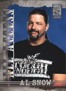2002 WWF All Access (Fleer) Al Snow 22