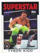 2016 WWE Heritage Wrestling Cards (Topps) Tyson Kidd 38