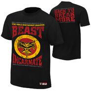 Brock Lesnar Beast Incarnate T-Shirt