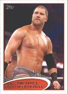 2012 WWE (Topps) Michael McGillicutty 71