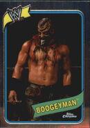 2008 WWE Heritage III Chrome Trading Cards Boogeyman 21
