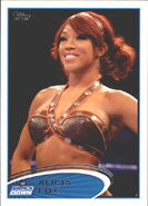 2012 WWE (Topps) Alicia Fox 46