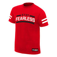 Nikki Bella Stay Fearless Authentic T-Shirt
