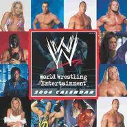 WWE 2004 Wall Calendar