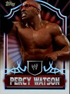 2011 Topps WWE Classic Wrestling Percy Watson 51