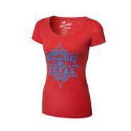 WrestleMania 32 Women's Scoop Neck T-Shirt