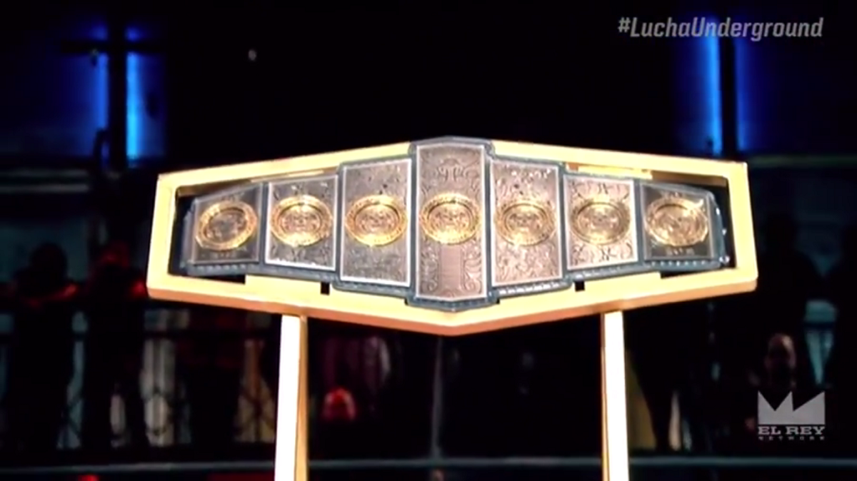 Image result for Lucha Underground Gift of the Gods Championship