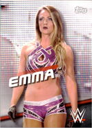 2016 WWE Divas Revolution Wrestling (Topps) Emma 22