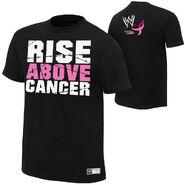 Paul Heyman Rise Above Cancer T-Shirt