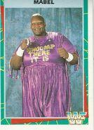 1995 WWF Wrestling Trading Cards (Merlin) Mabel 26