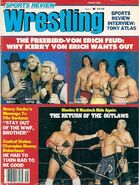 Sports Review Wrestling - August 1983