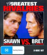 WWE Greatest Rivalries - Shawn Michaels vs Bret Hart (DVD)