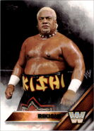 2016 WWE (Topps) Rikishi 85