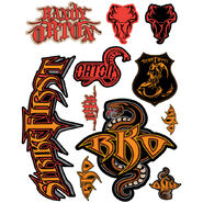 Randy Orton Decals