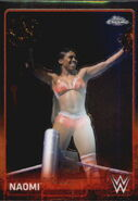 2015 Chrome WWE Wrestling Cards (Topps) Naomi 48