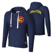 John Cena Tri-Blend Full-Zip Hoodie Sweatshirt