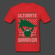 Ultimate Warrior 2016 Limited Edition Ugly Red Christmas Shirt