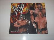 2009 WWE Wrestling Calendar