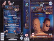 WWF Wrestlemania XVII - Cover