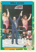 1995 WWF Wrestling Trading Cards (Merlin) Well Dunn 120