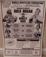 Saturday Night's Main Event XV Ad 2