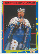 1995 WWF Wrestling Trading Cards (Merlin) Jerry Lawler 150