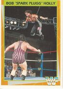 1995 WWF Wrestling Trading Cards (Merlin) Bob Holly 145