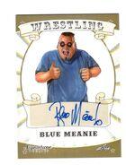 2016 Leaf Signature Series Wrestling Blue Meanie 9