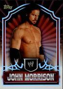 2011 Topps WWE Classic Wrestling John Morrison 34