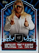 2011 Topps WWE Classic Wrestling Michael PS Hayes 85