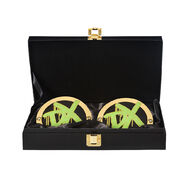 D-Generation X WWE World Heavyweight Championship Replica Title Side Plate Box Set