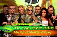 SummerSlam 2000 TLC match