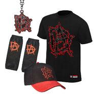 Dean Ambrose This Lunatic Runs The Asylum Halloween Youth T-Shirt Package