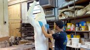 Ultimate Warrior Statue making.3