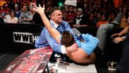 Alex Riley beating The Miz