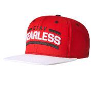 Nikki Bella Stay Fearless White Brim Snapback Hat