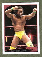 2009 WWE (Topps) Kofi Kingston 5